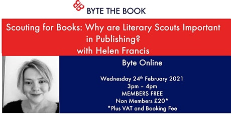 Scouting for Books: Why are Literary Scouts Important in Publishing? tickets