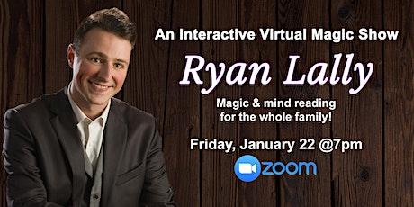 Virtual Magic Show | Interactive Magic & Mentalism tickets