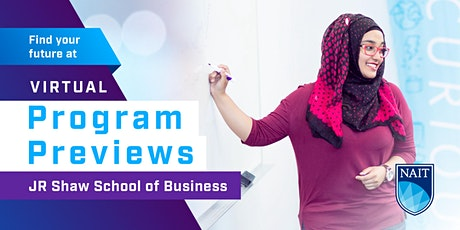 NAIT Program Preview - JR Shaw School of Business tickets