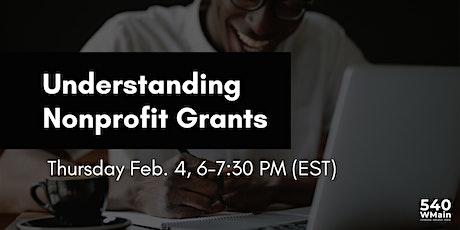 Understanding Nonprofit Grants tickets