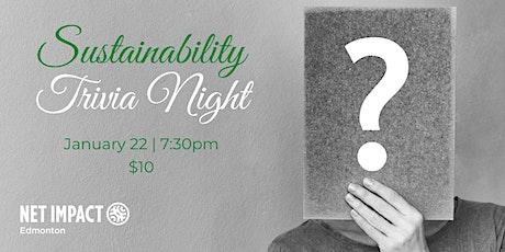 Net Impact Edmonton's Virtual Sustainability Trivia tickets