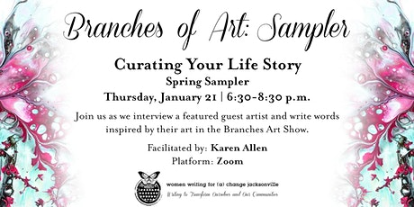Branches of Art: Sampler tickets