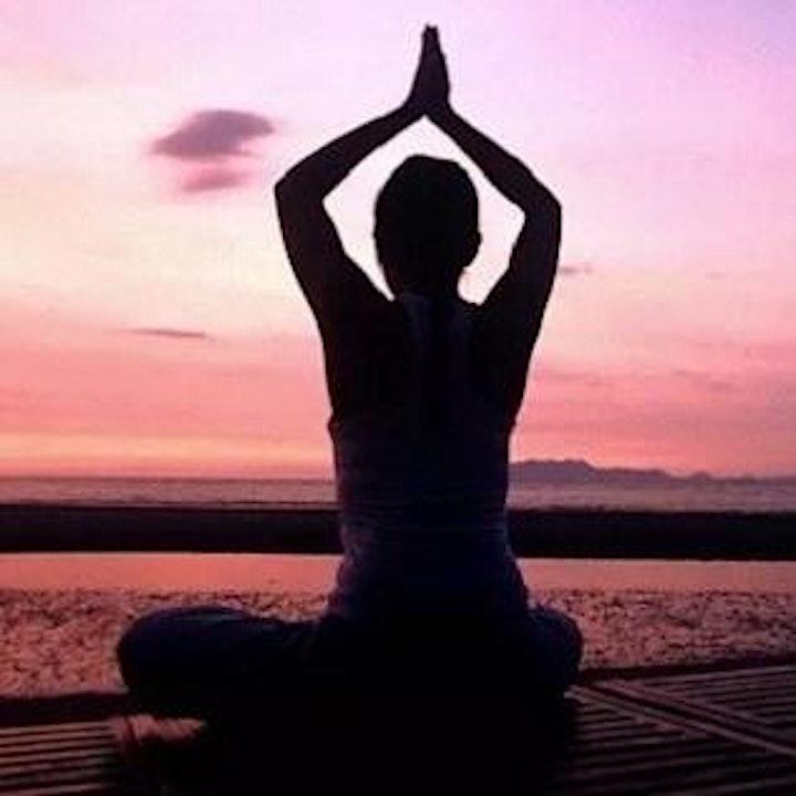 Hatha Yoga & Fluid Art image