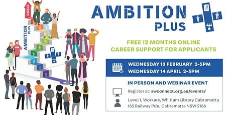 Ambition+ PLUS Session 2 tickets