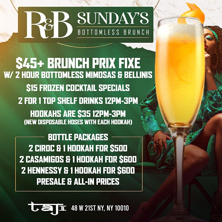 PREMONITION THE BRUNCH AND DAY PARTY AT TAJ image