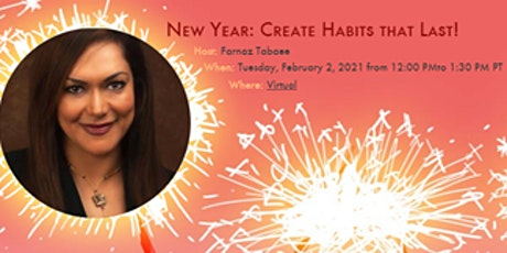 New Year:  Creating Positive Habits that Last! Using 3 Improv Skills tickets