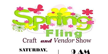 Spring Fling Craft & Vendor Show tickets