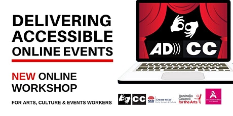 Delivering Accessible Online Events Workshop | 2 June 2021 tickets
