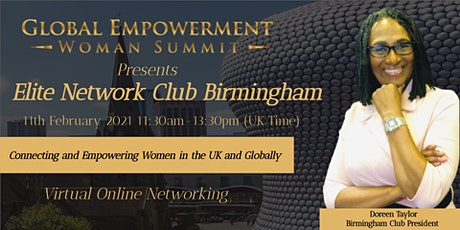 GEWS ELITE NETWORK CLUB  BIRMINGHAM UK - GLOBAL NETWORKING tickets