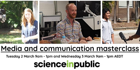 Media and communication masterclass (March - online) tickets