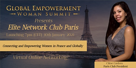GEWS ELITE NETWORK PARIS  CLUB LAUNCH tickets