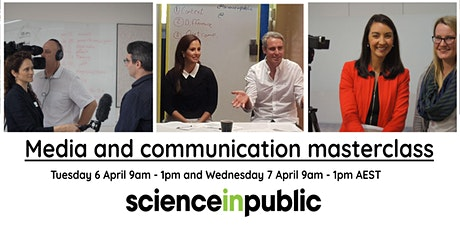 Media and communication masterclass (April - online) tickets