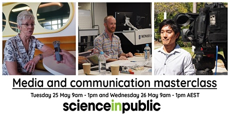 Media and communication masterclass (May - online) tickets