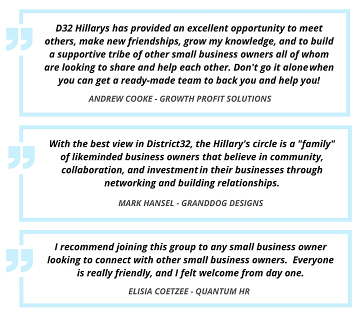 District32 Business Networking Breakfast – Hillarys - Tue 02nd Mar image