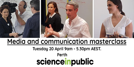 Media and communication masterclass (April - Perth) tickets