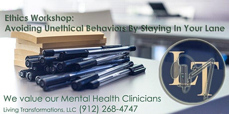 (6) Ethics Hours: Avoiding Unethical Behaviors - Staying In Your Lane tickets