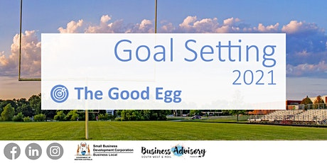Goal Setting 2021 tickets