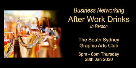 POSTPONED - Business Networking Drinks tickets