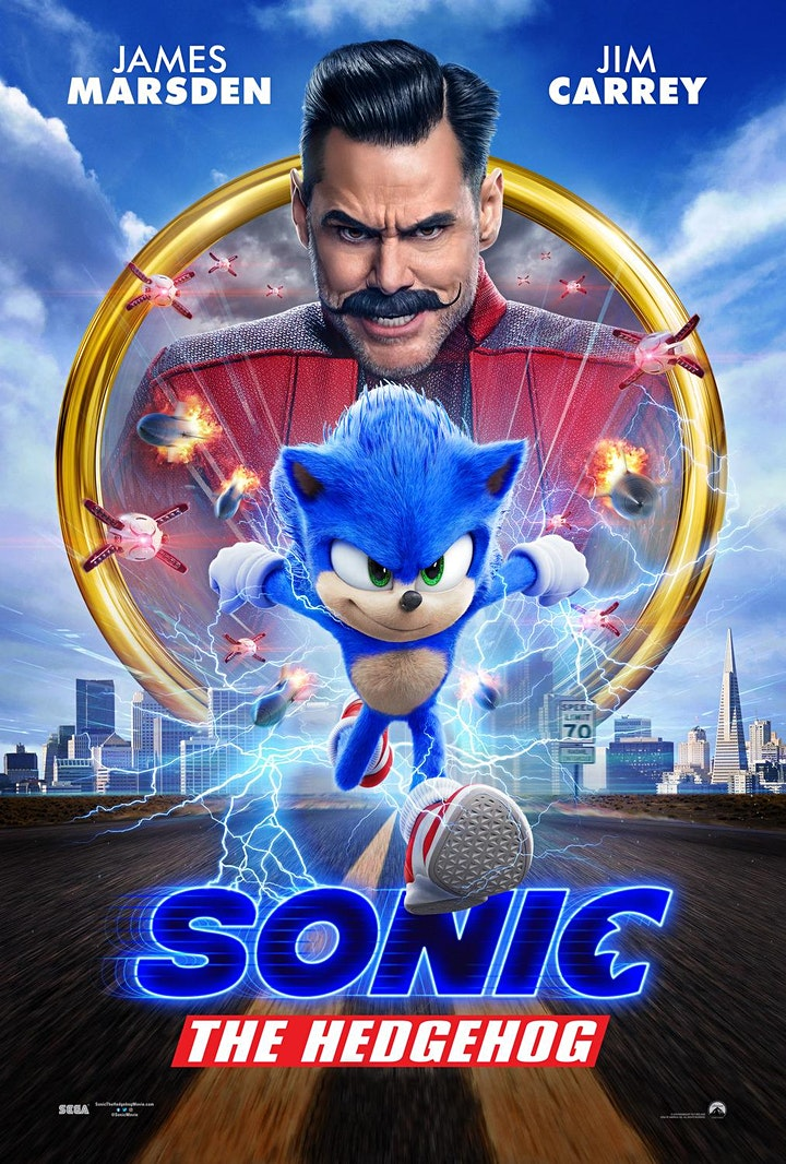 Movies Under the Stars:  Sonic The Hedgehog, Palm Beach - Free image