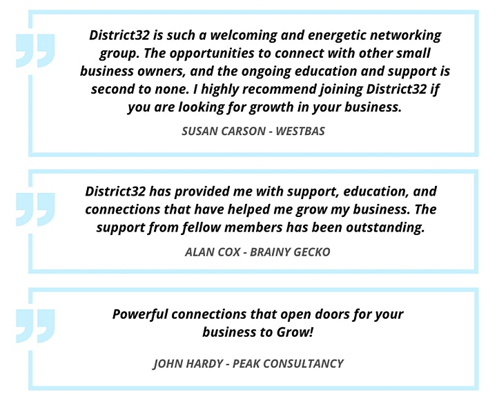 District32 Business Networking Perth – Vic Park / Ascot  - Tue 09th Mar image