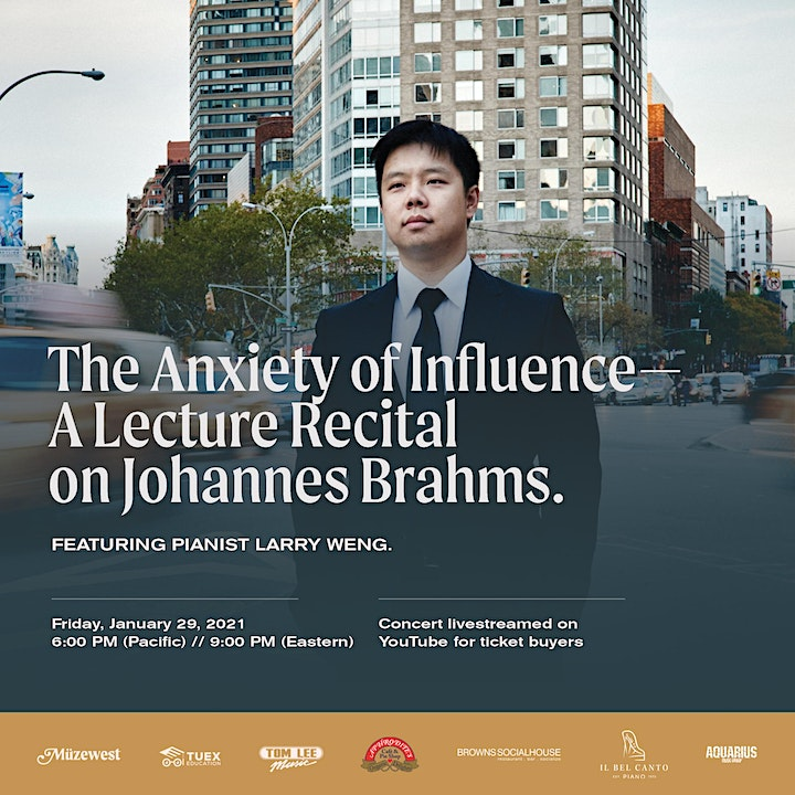 The Anxiety of Influence - Larry Weng, piano, in Recital image