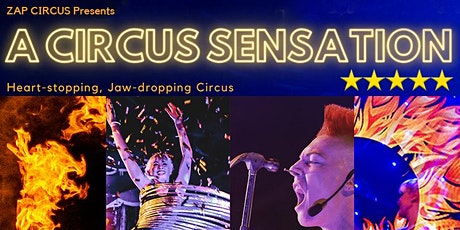 A CIRCUS SENSATION @ FRINGE WORLD Festival 2021 by ZAP CIRCUS tickets