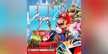 THIS SUNDAY :: FUNDAY SUNDAY BRUNCH (EAT × DRINK × PLAY) @ JOSEPHINE LOUNGE tickets