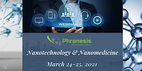 Webinar on Nanotechnology and Nanomedicine (iNano-2021) tickets