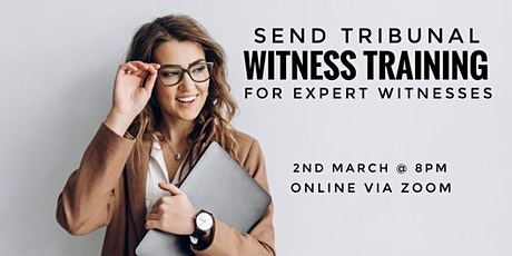 SEND Tribunal Witness Training for Expert Witnesses tickets