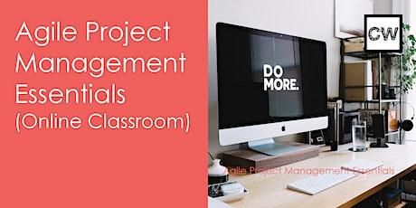 Agile Project Management Essentials (Online Classroom) ingressos