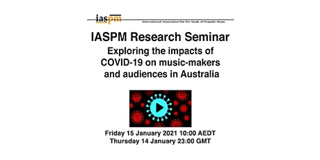IASPM January Research Seminar tickets