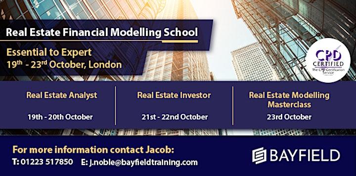 Bayfield Training - Real Estate Financial Modelling School image