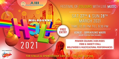 MELBOURNE HOLI FESTIVAL 2021 tickets
