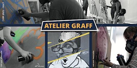 Atelier graff Calligraff mars 2021 billets