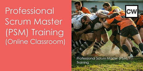 Professional Scrum Master (PSM) Training (Online Classroom) tickets