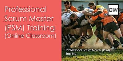 Professional Scrum Master (PSM) Training (Online Classroom)