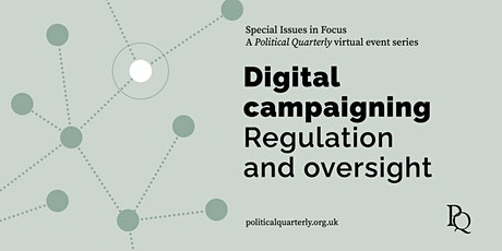 Digital campaigning: Regulation and oversight tickets