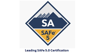 Leading SAFe 5.0 Certification 2 Days Training in Morristown, NJ tickets