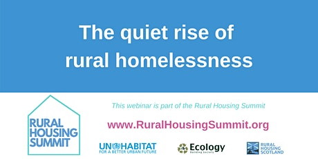 The quiet rise of rural homelessness tickets