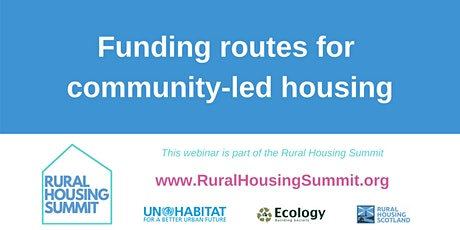 Funding routes for community-led housing tickets