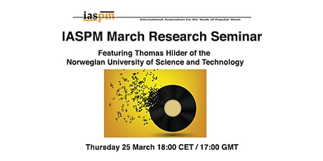 IASPM March Research Seminar tickets