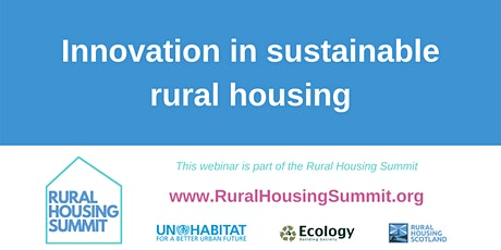 Innovation in sustainable rural housing tickets