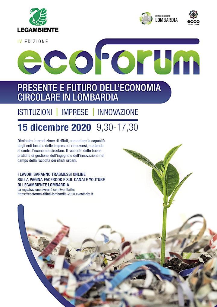 Immagine Ecoforum Rifiuti Lombardia 2020