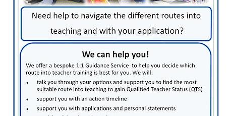 Teacher Training in Cambridgeshire - 1:1 Guidance service biglietti