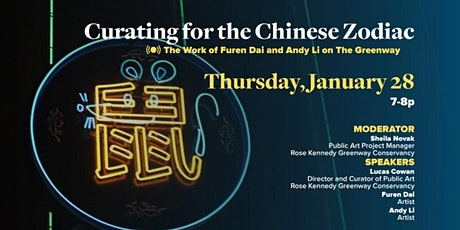 Curating for the Chinese Zodiac: Furen Dai and Andy Li on The Greenway tickets
