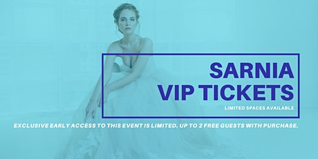 Sarnia Pop Up Wedding Dress Sale VIP Early Access tickets