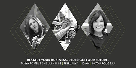 RESTART YOUR BUSINESS. REDESIGN YOUR FUTURE. tickets