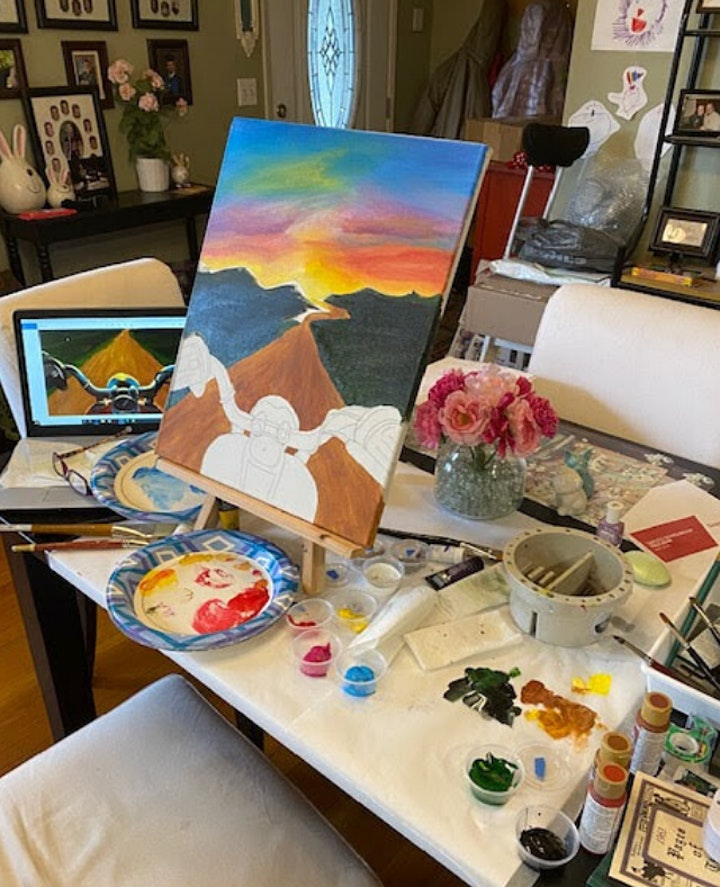 PAINT BAR AT HOME ~ Pick up your painting kit from B & C on March 3rd image