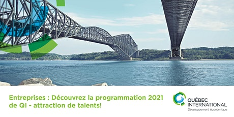 Entreprises: Découvrez la programmation 2021 de QI - attraction de talents! billets