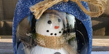 Virtual Snowman Jar Craft Workshop tickets